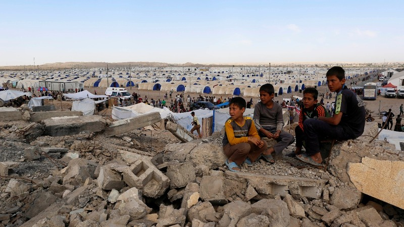Without school, Mosul children feared lost