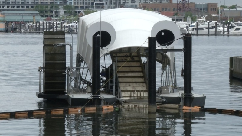 Mr. Trash Wheel, Baltimore's garbage gobbler