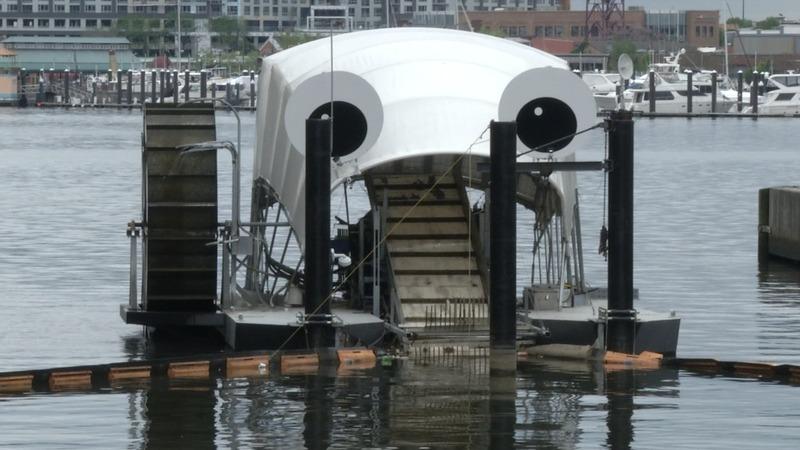 Mr. Trash Wheel, Baltimore's garbage gobbler