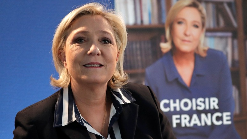 Le Pen to Reuters: Lifted words were 'nod' to rival