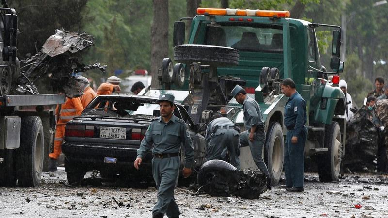 Eight civilians killed in NATO convoy attack