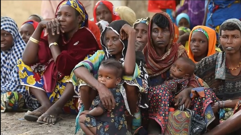 Nigerians face hunger in recaptured wasteland