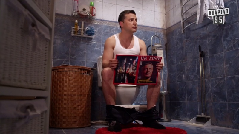 Ukraine's crises feed their hottest comedy