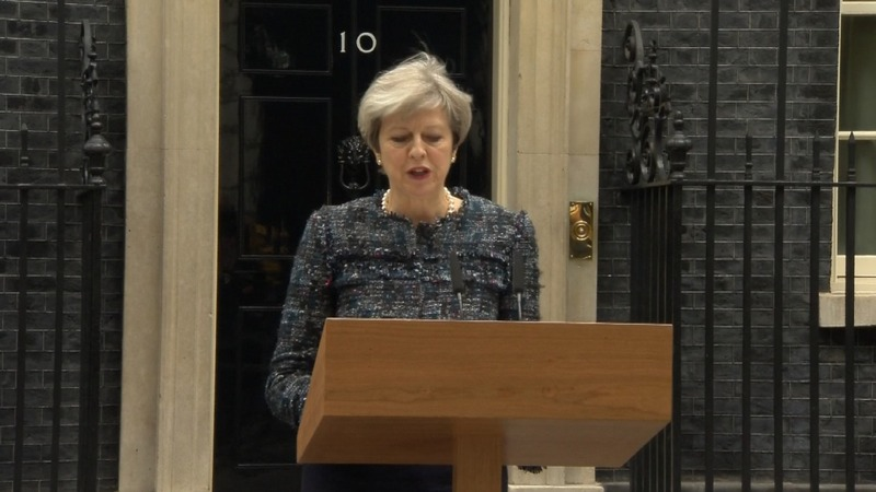 May accuses EU of interfering in election