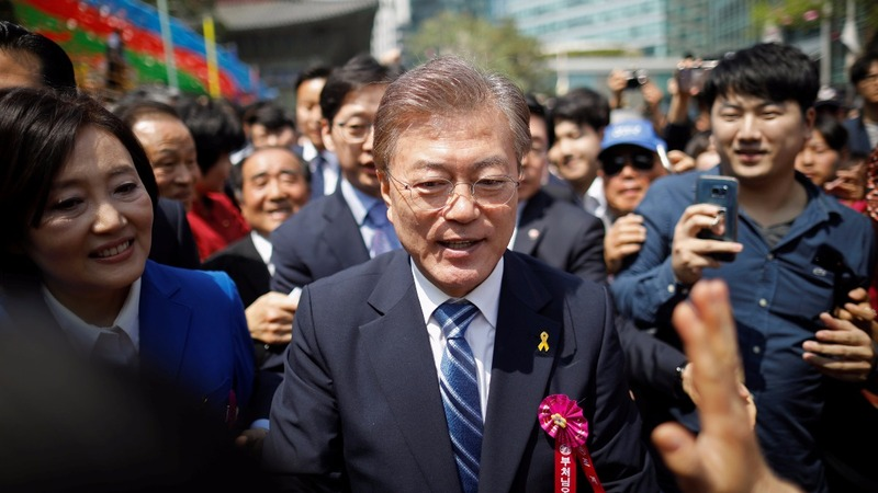 South Korea's top candidate could clash with U.S.