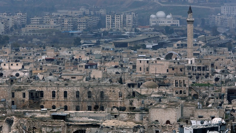 Ghost cities: If London had suffered like Aleppo