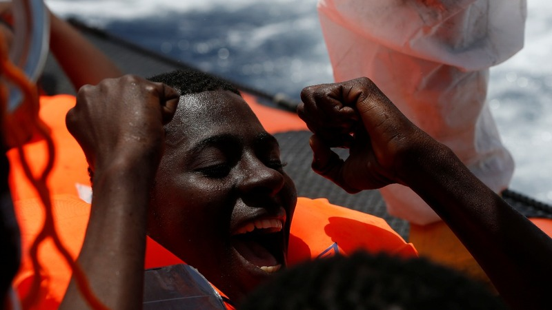 INSIGHT: Hundreds of migrants rescued at sea