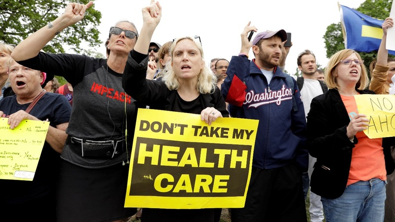 GOP lawmakers to face constituents after healthcare vote
