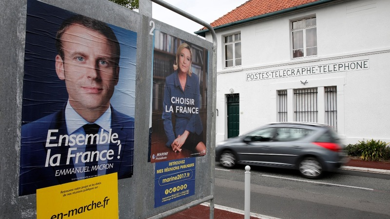 Macron's French presidential campaign emails leaked online