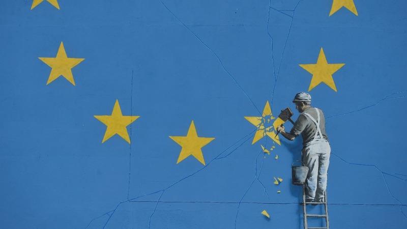 British artist Banksy takes on Brexit