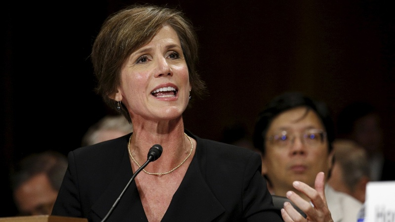 Former acting AG Yates testifies on Russia, Flynn