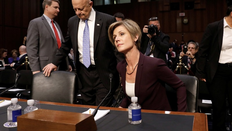 Yates warned Trump over Flynn blackmail fears