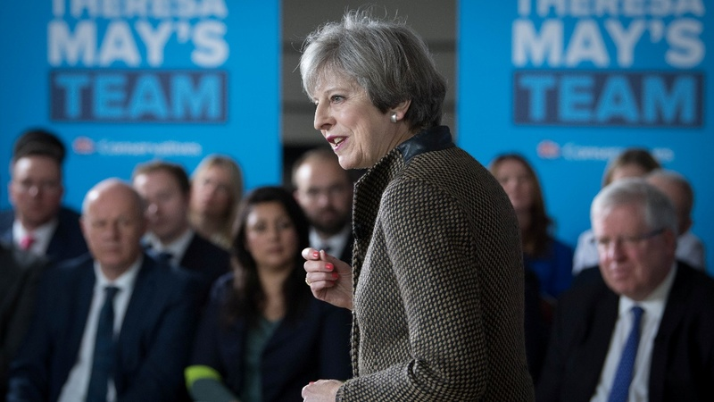 UK PM gets poll boost a month before vote