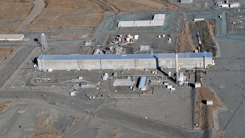 Tunnel collapses at Washington nuclear waste plant