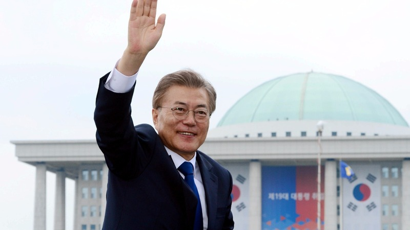 New South Korea president to address tensions 'urgently'