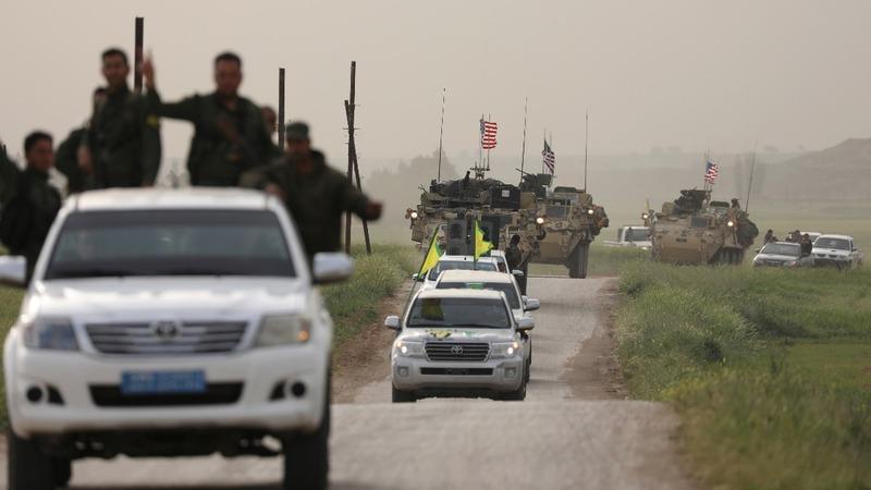 Turkey balks at Trump's arming of Syrian Kurd fighters