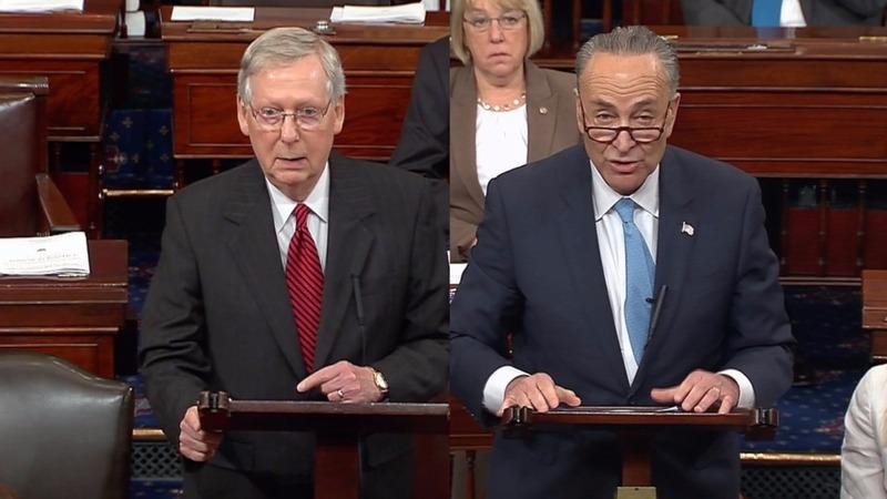 VERBATIM: Senate leaders argue over Comey firing