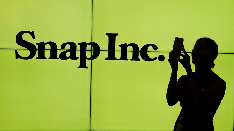 Oh Snap! Shares plummet as user growth slows