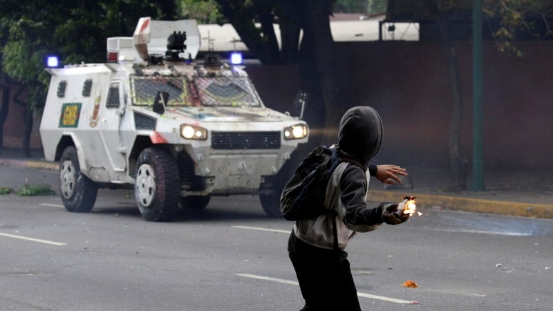 INSIGHT: Venezuelans protest through 'shit march'