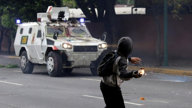 INSIGHT: Venezuelans protest through 'shit march'
