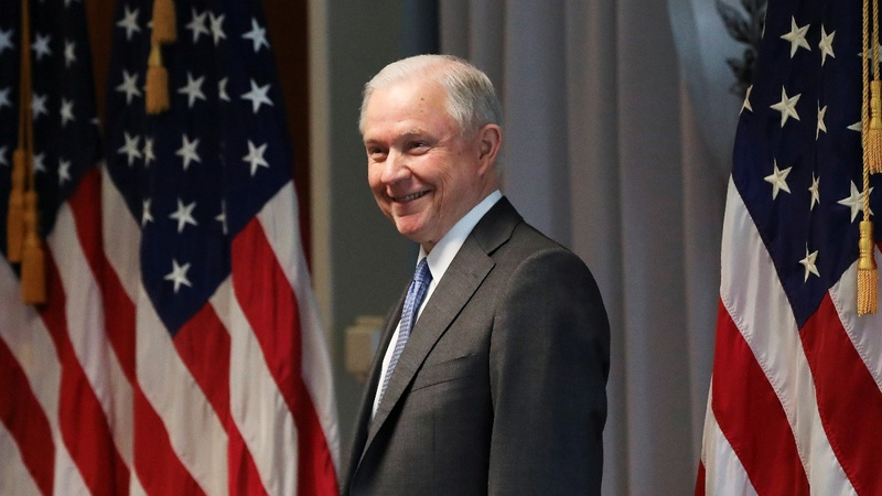 U.S. AG Sessions orders harsher criminal sentences