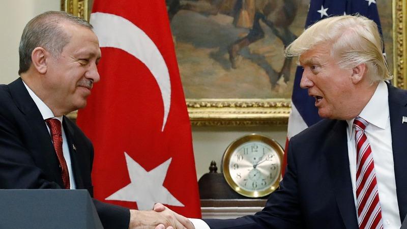 Trump, Erdogan air tensions over YPG