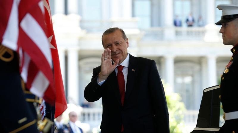 Turkey puts best face on U.S. ties amid tensions