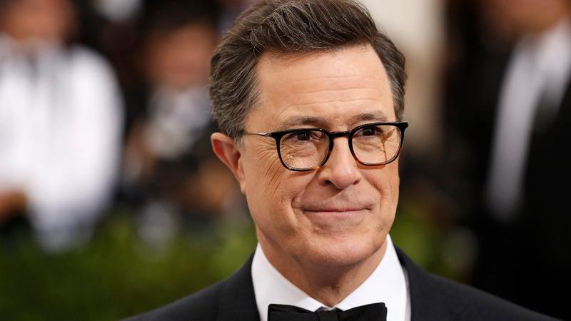 Colbert rides Trump to ratings milestone