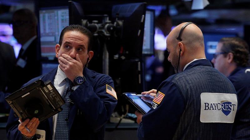 Dow tumbles 372 pts as Trump drama roils markets