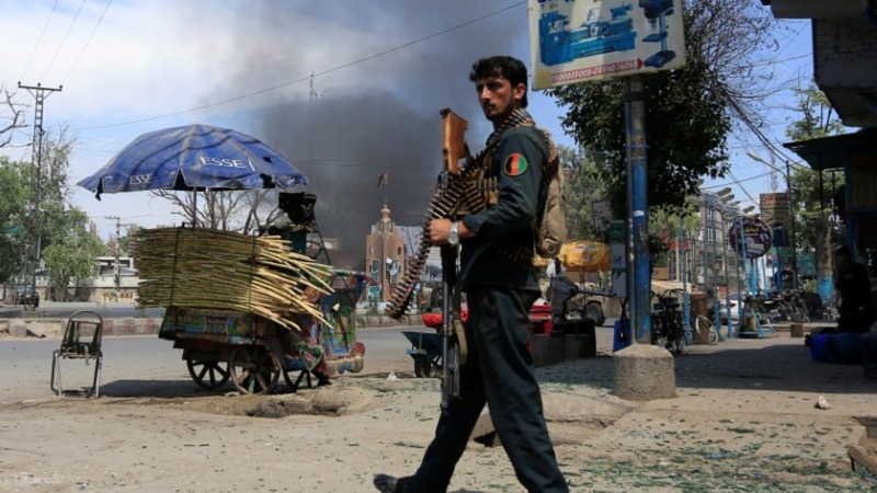 Islamic State claim attack on Afghan TV station