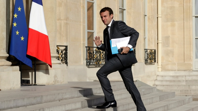 Macron's new colorful French government