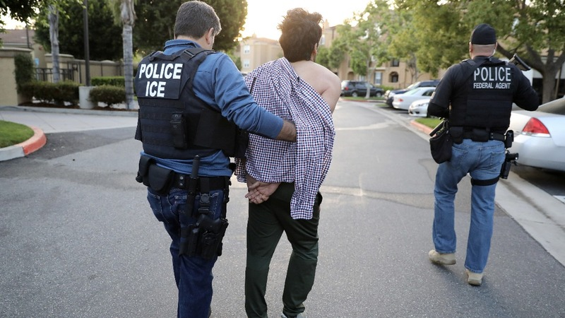 Immigration arrests up nearly 40 percent under Trump