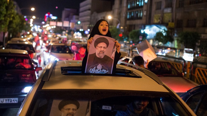 Iran's Rouhani faces strong challenge from hardliner
