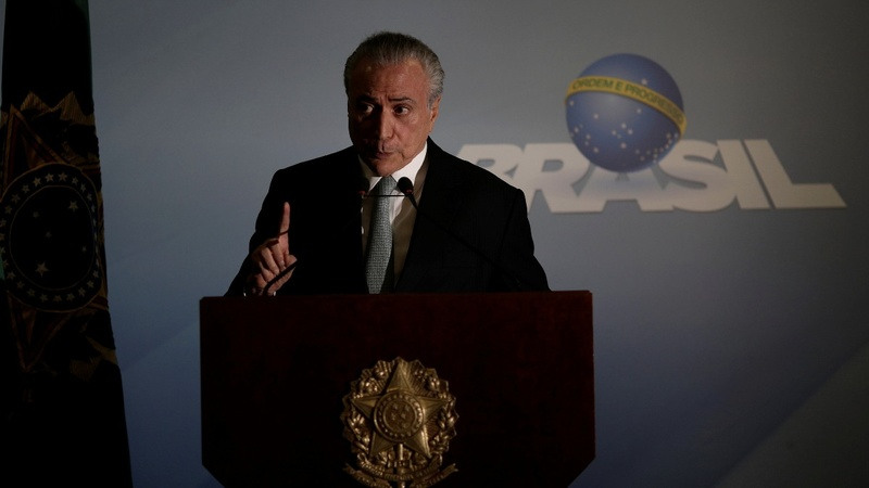 Testimony links Brazil's president to bribes