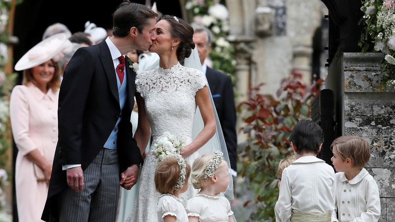 INSIGHT: Royal sister-in-law Pippa's wedding