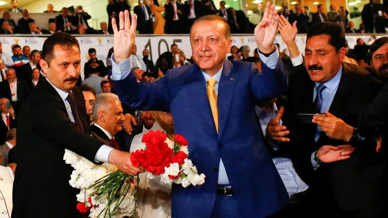 Turkey's Erdogan vows fight against enemies