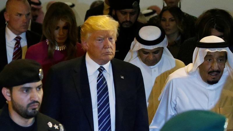 Trump reaps Saudi arms deal, stronger ties