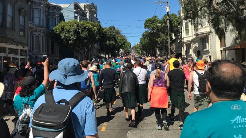 INSIGHT: Rowdy revelers run Bay to Breakers