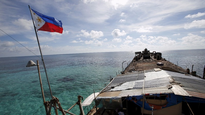 Manila soothes concerns over 'war' with China