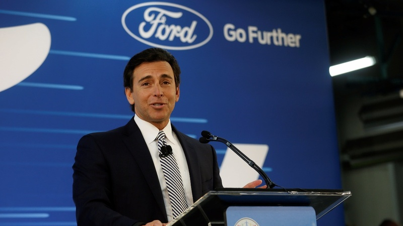 Ford fires CEO Mark Fields as shares founder