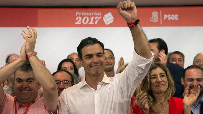 Sanchez in shock return to Spain's Socialists
