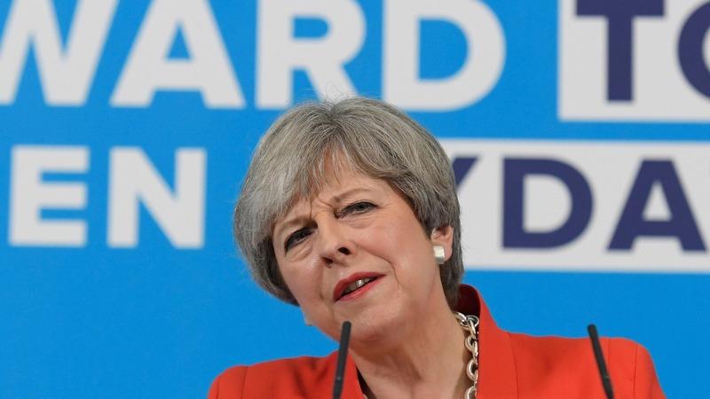 UK PM's manifesto triggers poll plunge
