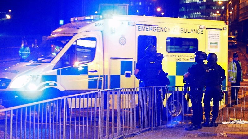'Suicide' blast at UK concert kills at least 19