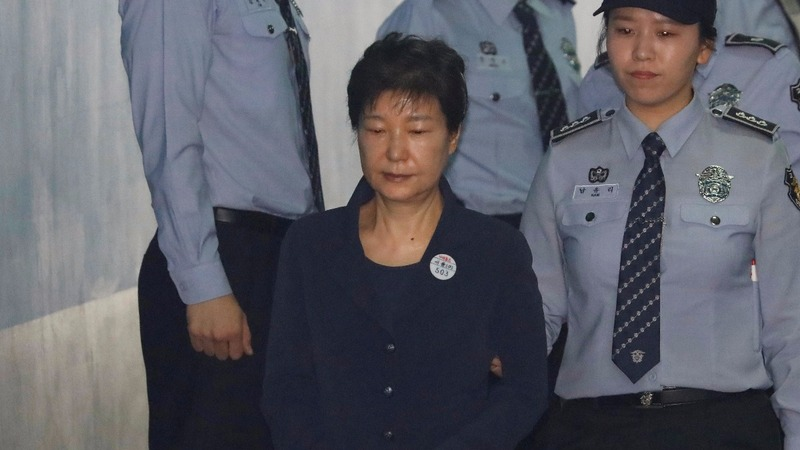 South Korea's Park pleads 'not guilty' in bribery trial
