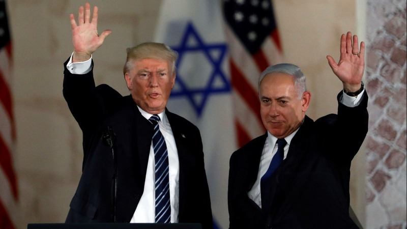 Trump reaffirms goal of Middle East peace
