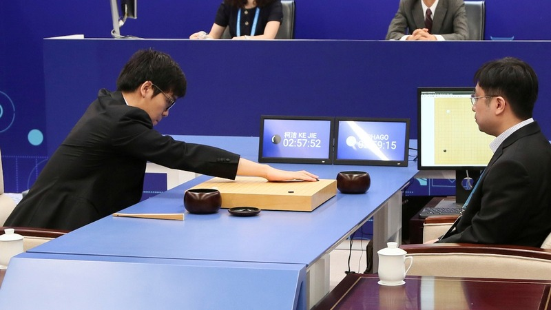Google AI beats Chinese game champ