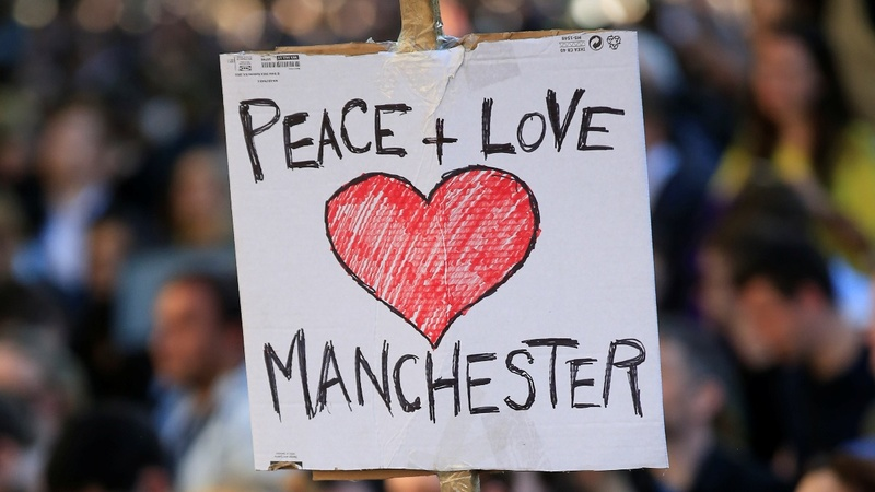 After attack, calls for unity at Manchester vigil