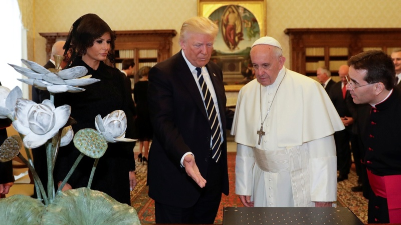 INSIGHT: Trump meets Pope Francis at the Vatican