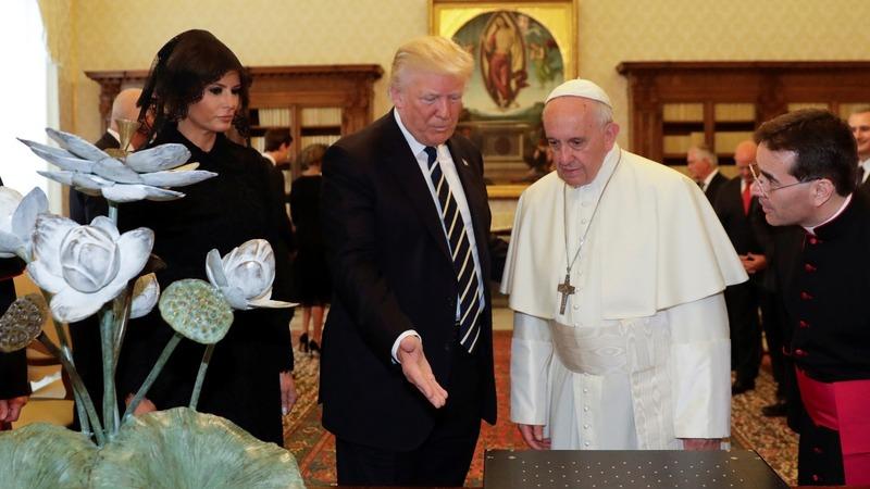 INSIGHT: Trump meets Pope Francis at the Vatican
