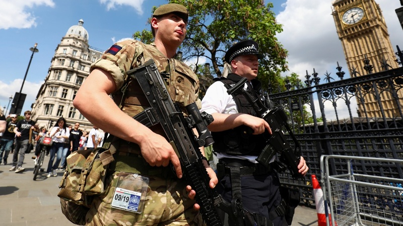 Troops hit UK streets after terror attack